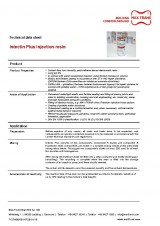 Intectin Plus injection resin
