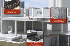 Stremaform® concrete jointing system visualized