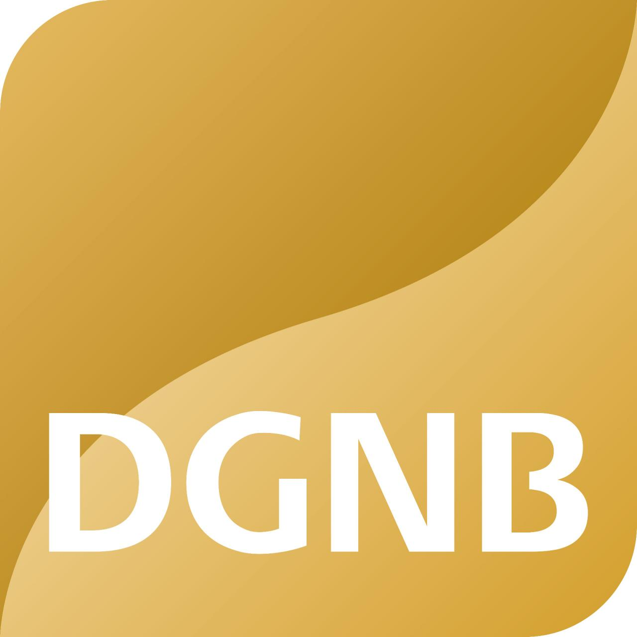DGNB certificate in gold