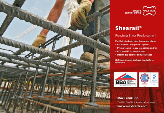 Shearail® - the approved punching shear solution