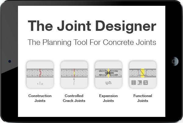 The Joint Designer - The Planning Tool for Concrete Joints