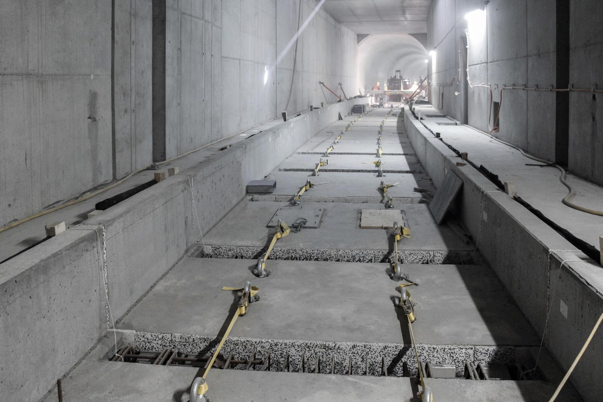 Cast Concrete Spacers : How to decoupling of impact sound through mass spring
