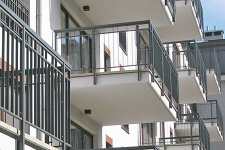 How to: Precast balconies with shortened tensile bars for a more compact transport volume