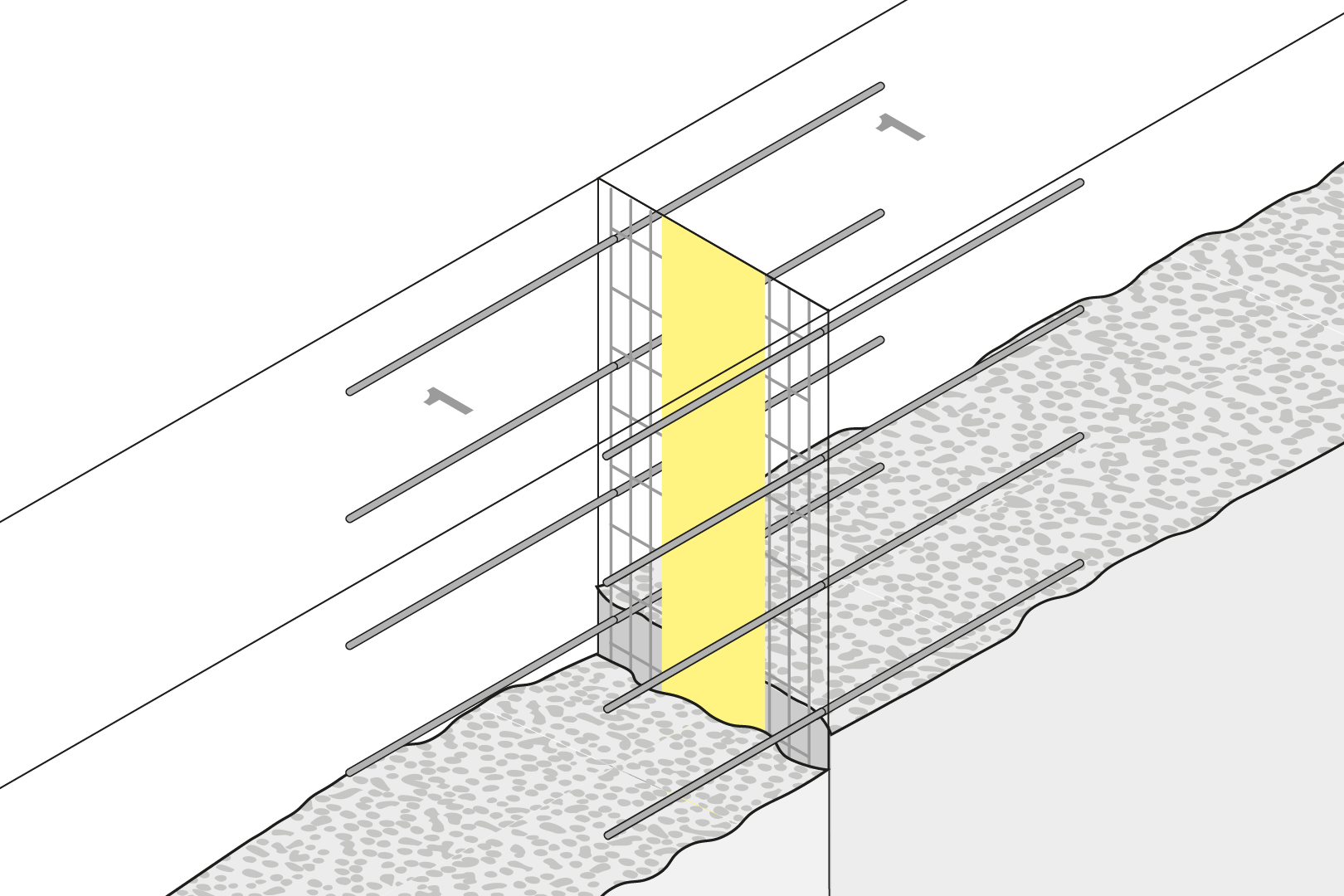 Controlled Crack Joint - Wall