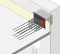 Stair Landing Bearing With Bracket
