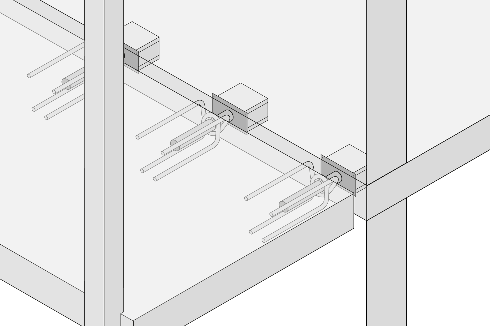Balcony Bearing With Sound And Thermal Insulation