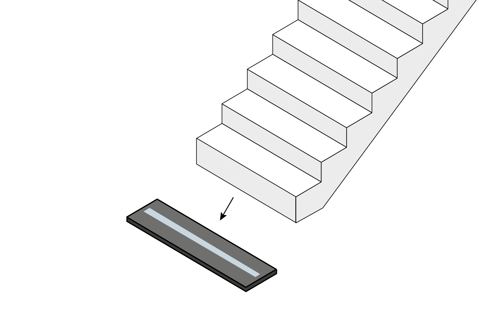 Staircase Bearing Base Point
