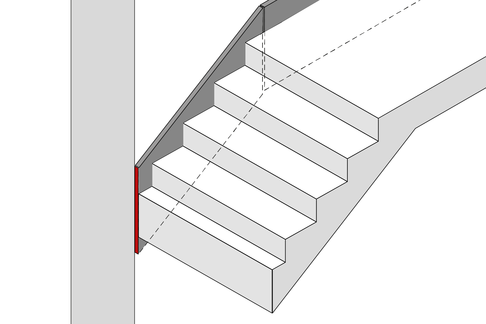 Stair Parting Joint
