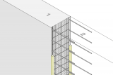 Construction Joint Formwork Element - Wall