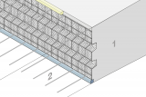 Construction Joint Formwork With Indentation - Slab