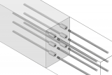 Construction Joint With Reinforcement Connection For Force Transmission