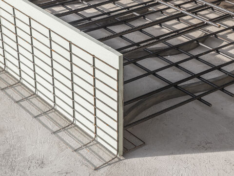 Formwork elements for expansion joints Stremaform®