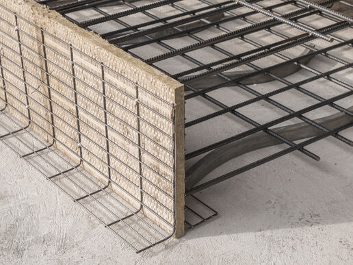 Formwork elements for expansion joints Stremaform® with sound insulation