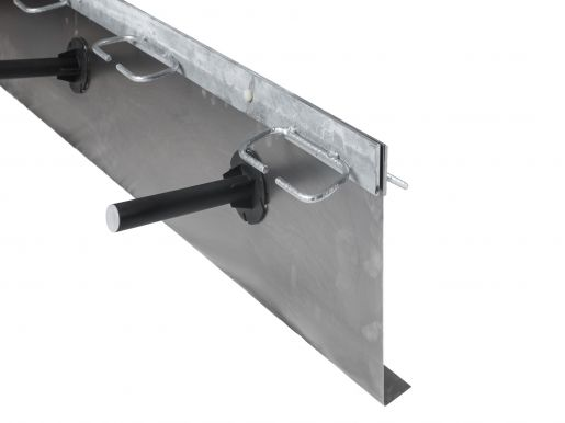 Formwork elements for armoured separation joints Splitboard® with transverse force transmission