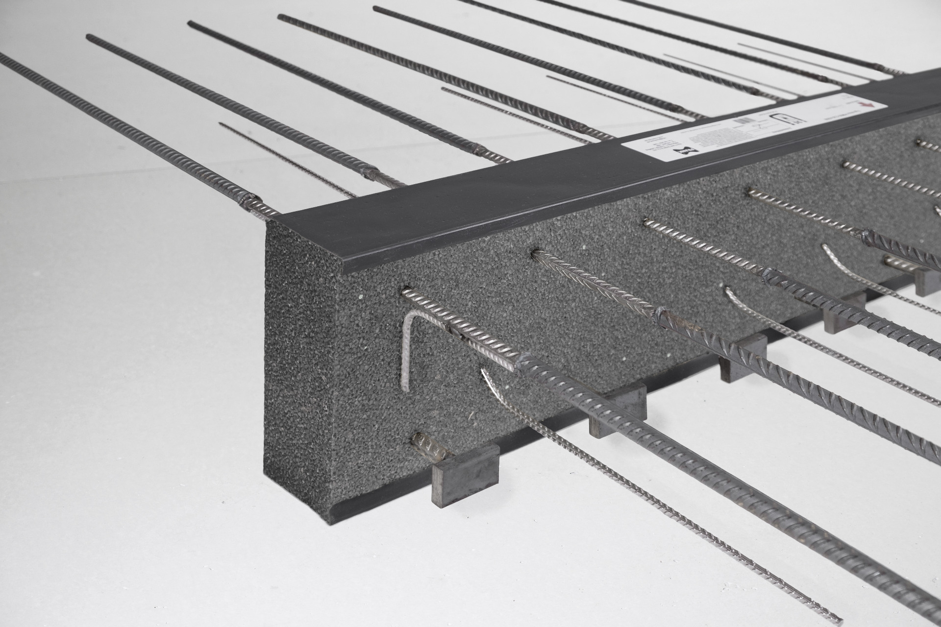 Cast Concrete Spacers : Thermal break balcony connector egcobox max frank gmbh