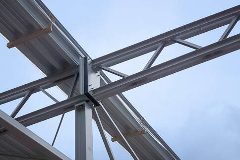 Raccordo termoisolante per carpenterie metalliche egcobox for Raccordo in acciaio verticale