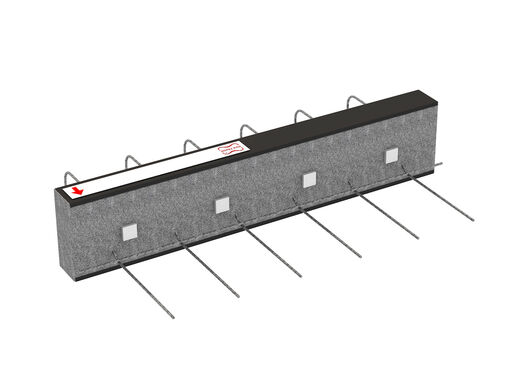 Cantilever connectors Egcobox® - supported balconies
