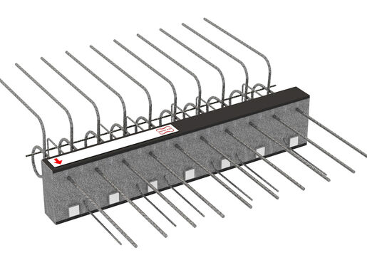 Cantilever connectors Egcobox® - cantilevered balconies with height offset