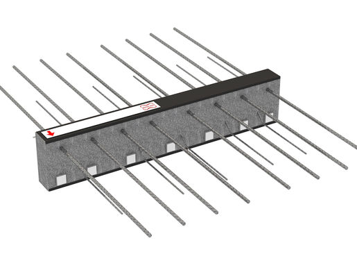 Cantilever connectors Egcobox® - cantilevered balconies