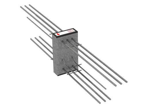 Cantilever connectors Egcobox® - cantilevered beams and wall panels