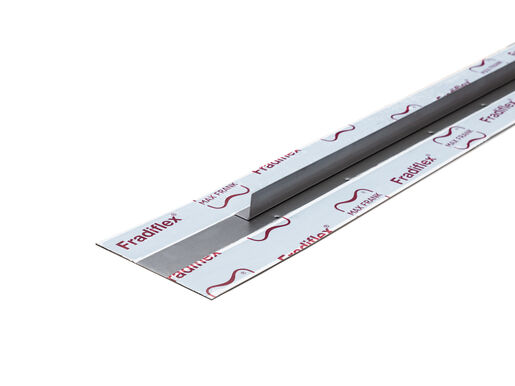 Metal water stop for element walls Fradiflex® – controlled crack inducer corner strips