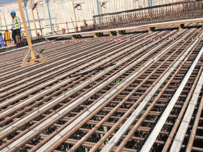 Concrete spacers supplied to Mina Tunnel in Abu Dhabi