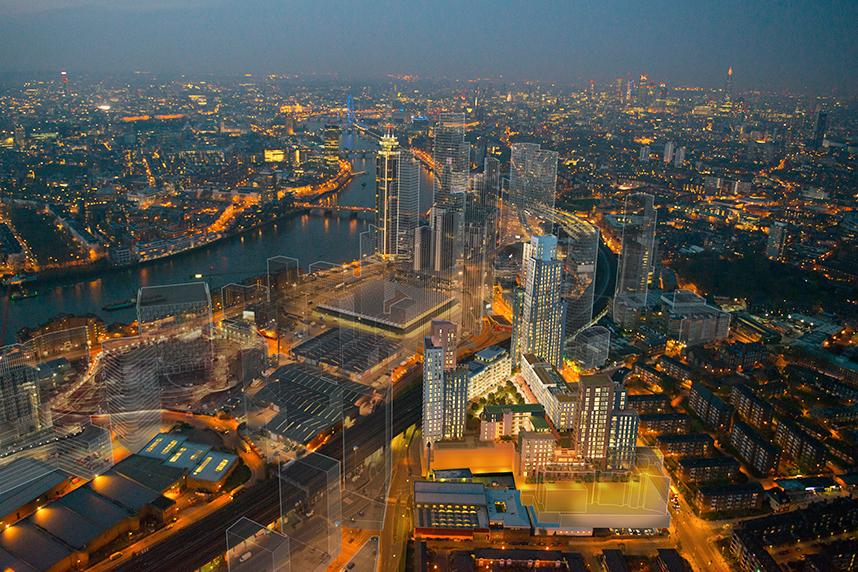 Shearail® supplied to Nine Elms development
