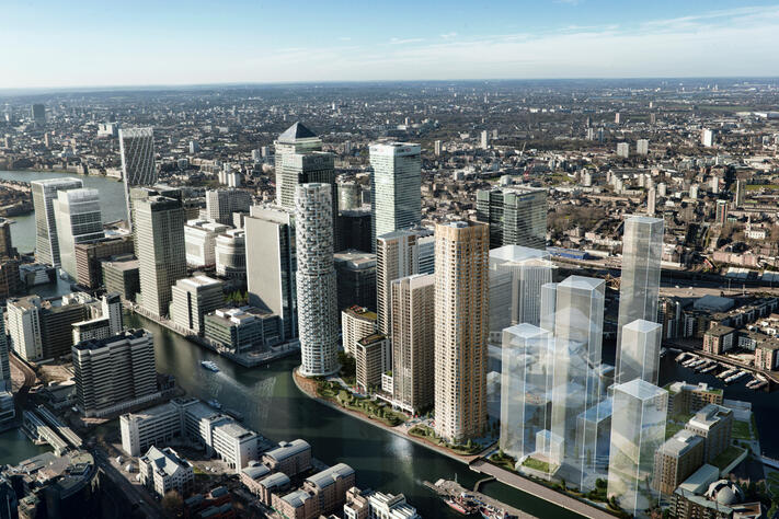 Stremaform® supplied to Canary Wharf's New District