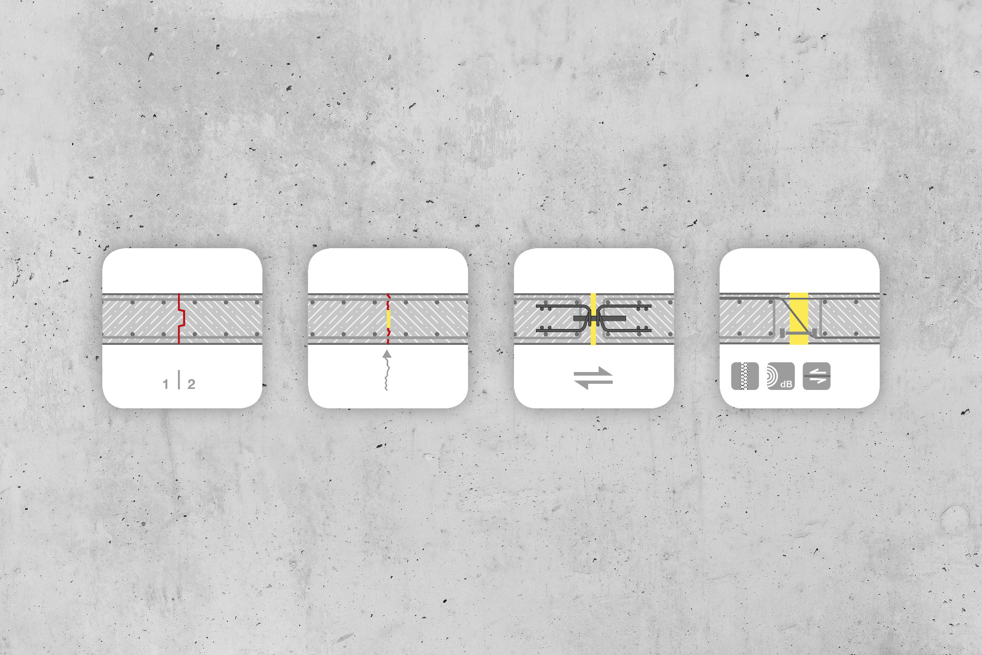 Cast Concrete Spacers : The joint designer max frank gmbh co kg