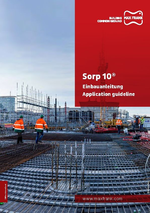 Guide d'installation Sorp 10® (anglais)
