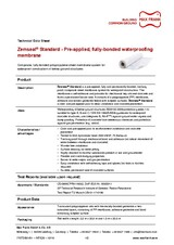 Sub-structure waterproofing system Zemseal® Standard