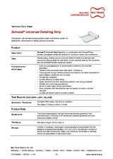 Sub-structure waterproofing system Zemseal® Universal Detailling Strip