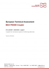 European Technical Assessment ETA-20/0387