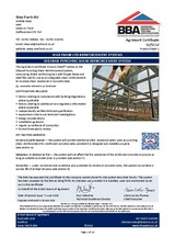 Punching Shear Reinforcement Shearail® BBA Certificate