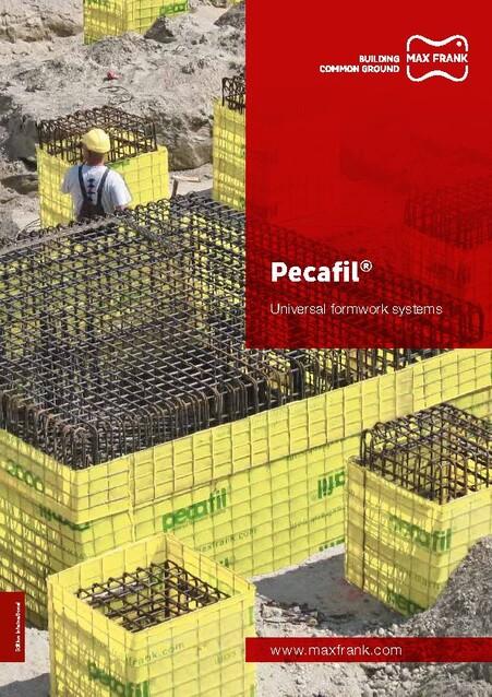 Permanent formwork Pecafil® – MAX FRANK