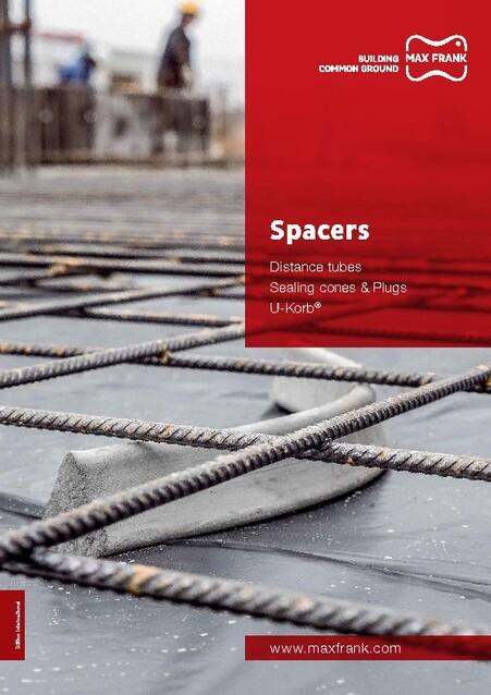 Cast concrete spacers – MAX FRANK