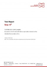 Sorp 10® - Test Report