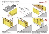 Permanent formwork Pecafil® reusable foundation formwork
