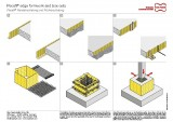 Permanent formwork Pecafil® edge formwork and box-outs