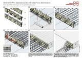 Formwork element for expansion joints Stremaform® with shear force transmission